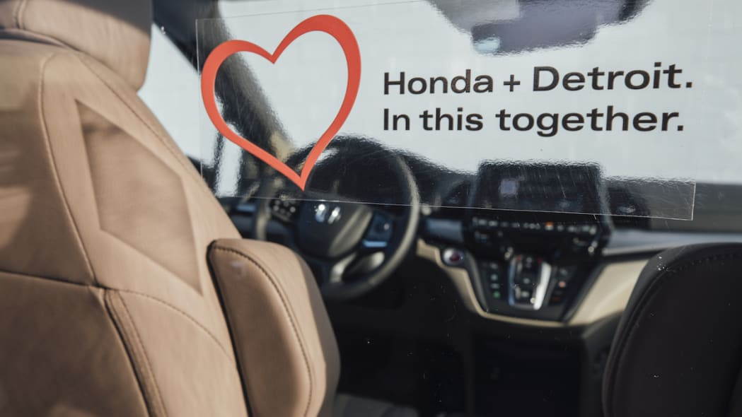Ten specially outfitted Honda Odyssey minivans will be used to t