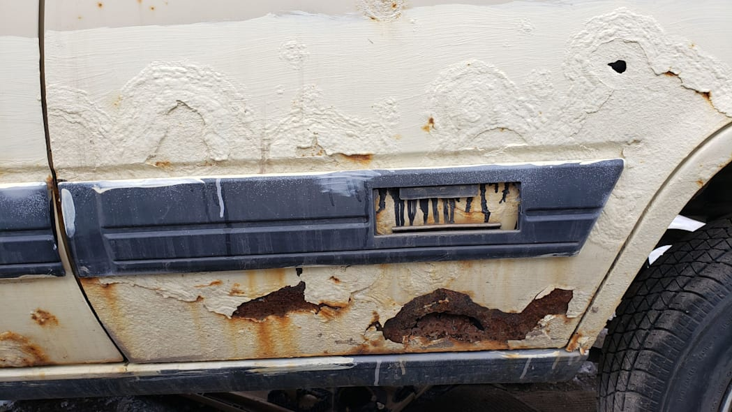 12 - 1983 Toyota Tercel 4WD Wagon in Colorado Junkyard - photo by Murilee Martin