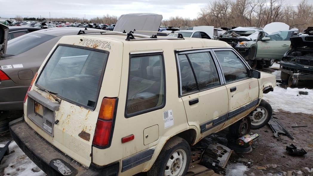 51 - 1983 Toyota Tercel 4WD Wagon in Colorado Junkyard - photo by Murilee Martin