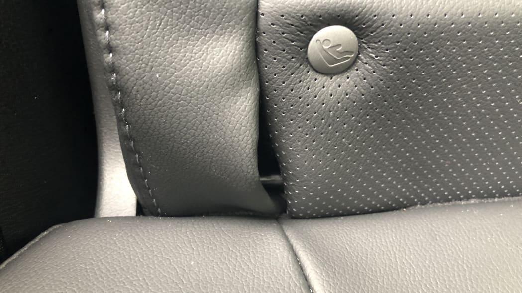 Honda CR-V LATCH anchor