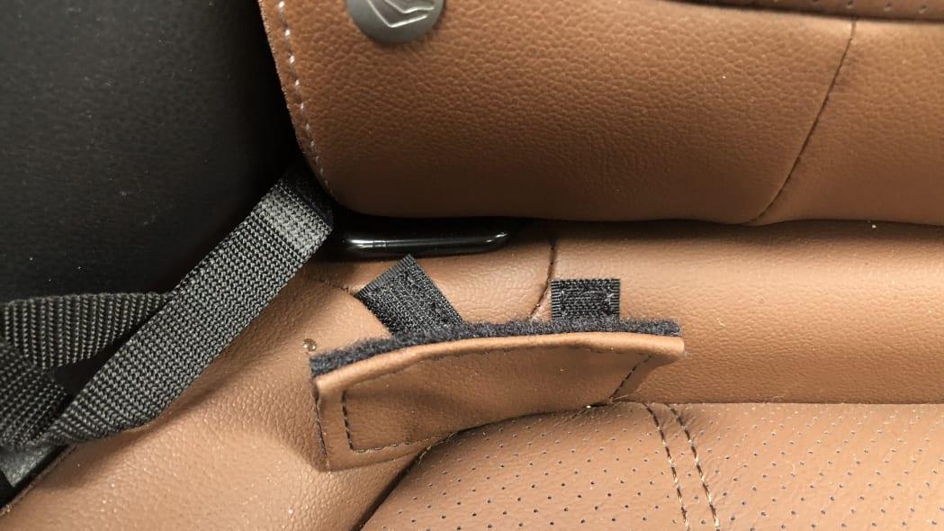 Subaru Forester LATCH anchor
