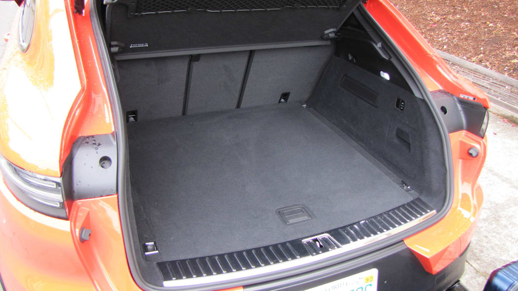 Porsche Cayenne Coupe Luggage Test cargo area