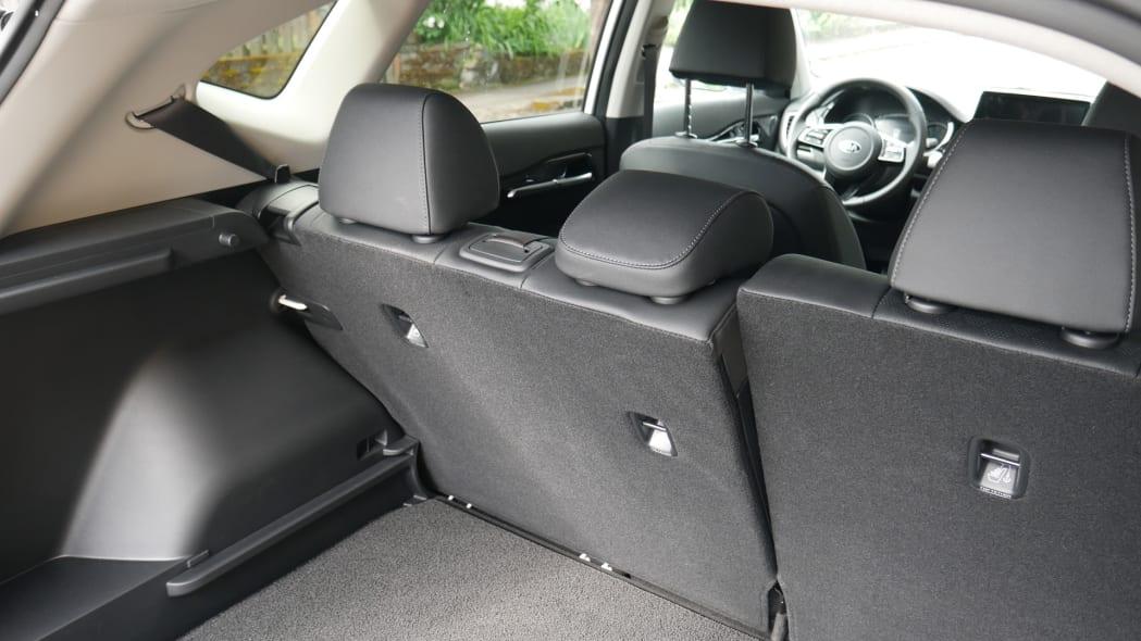 2021 Kia Seltos reclining back seat