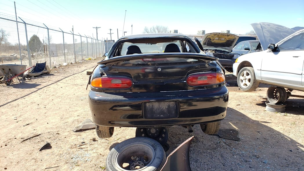 29 - 1993 Mazda MX-3 in Colorado Junkyard - photo by Murilee Martin