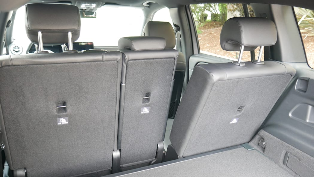 2020 Mercedes GLB Luggage Test seat extreme