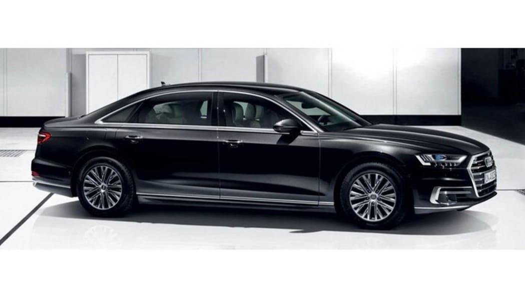 2020 Audi A8 L Security