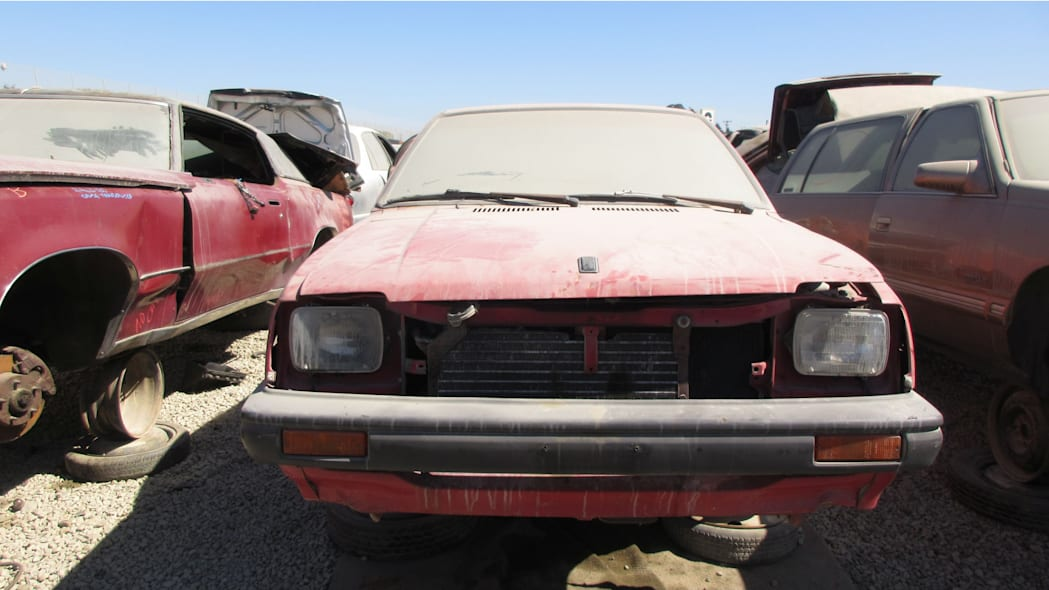 19 - 1985 Chevrolet Sprint in California Junkyard - photo by Murilee Martin