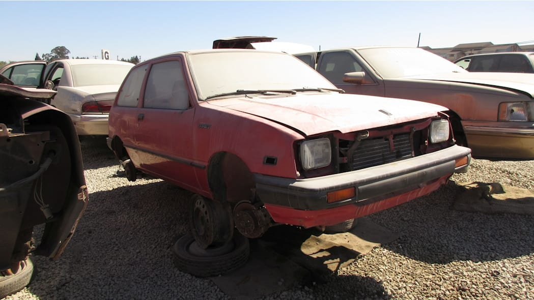 20 - 1985 Chevrolet Sprint in California Junkyard - photo by Murilee Martin