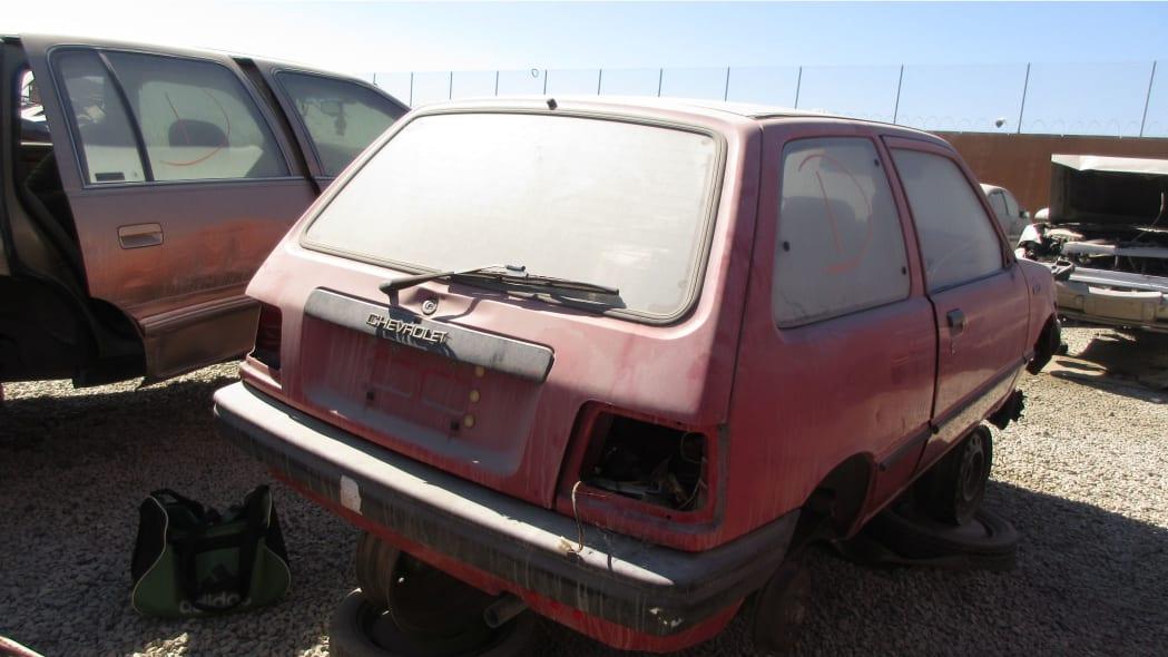 22 - 1985 Chevrolet Sprint in California Junkyard - photo by Murilee Martin
