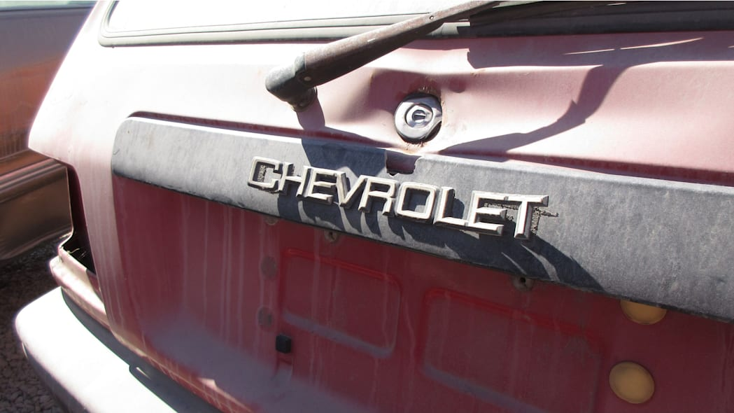 24 - 1985 Chevrolet Sprint in California Junkyard - photo by Murilee Martin
