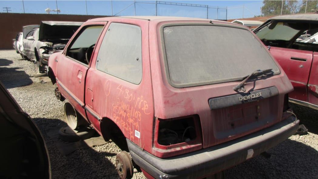 25 - 1985 Chevrolet Sprint in California Junkyard - photo by Murilee Martin