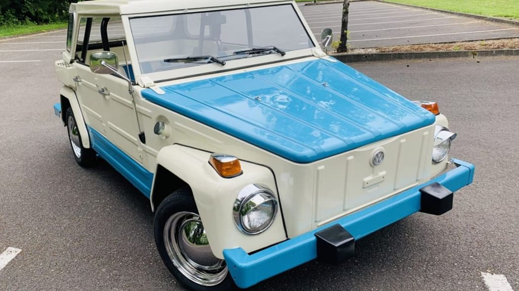 VW thing front
