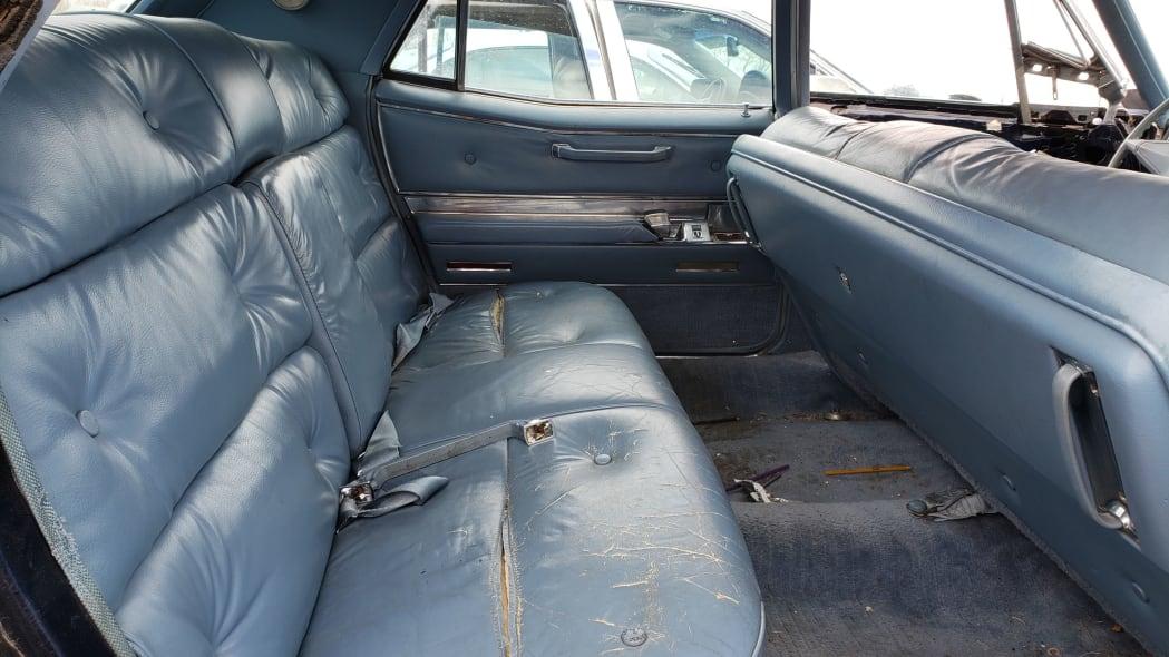 24 - 1967 Cadillac Fleetwood in Colorado Junkyard - photo by Murilee Martin