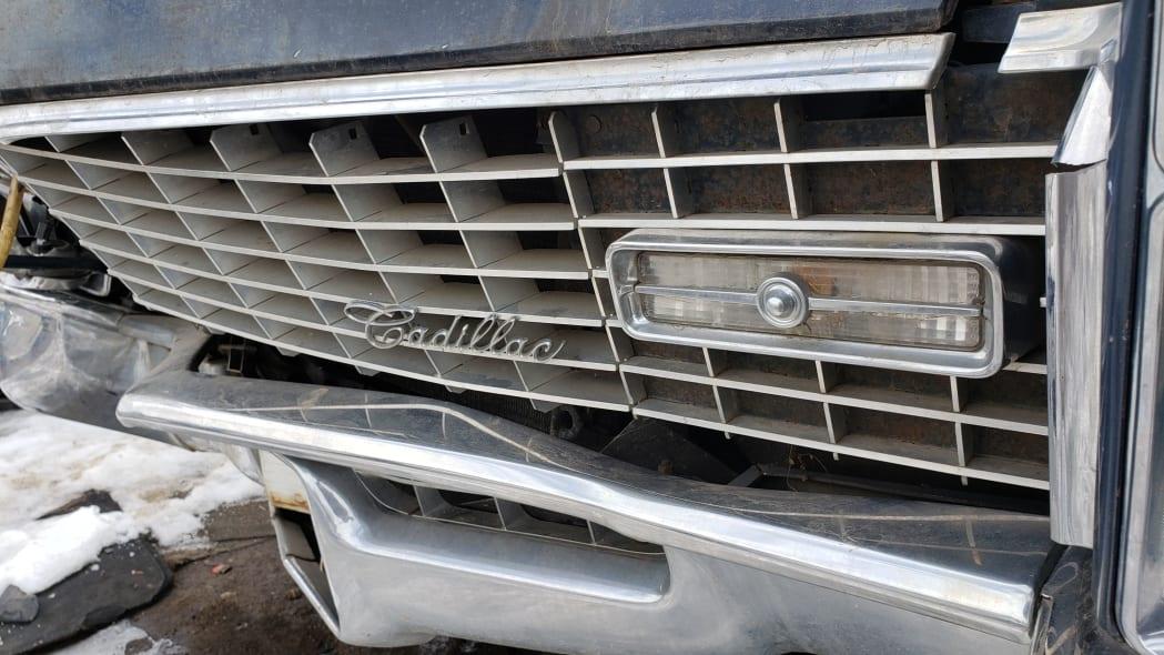 50 - 1967 Cadillac Fleetwood in Colorado Junkyard - photo by Murilee Martin
