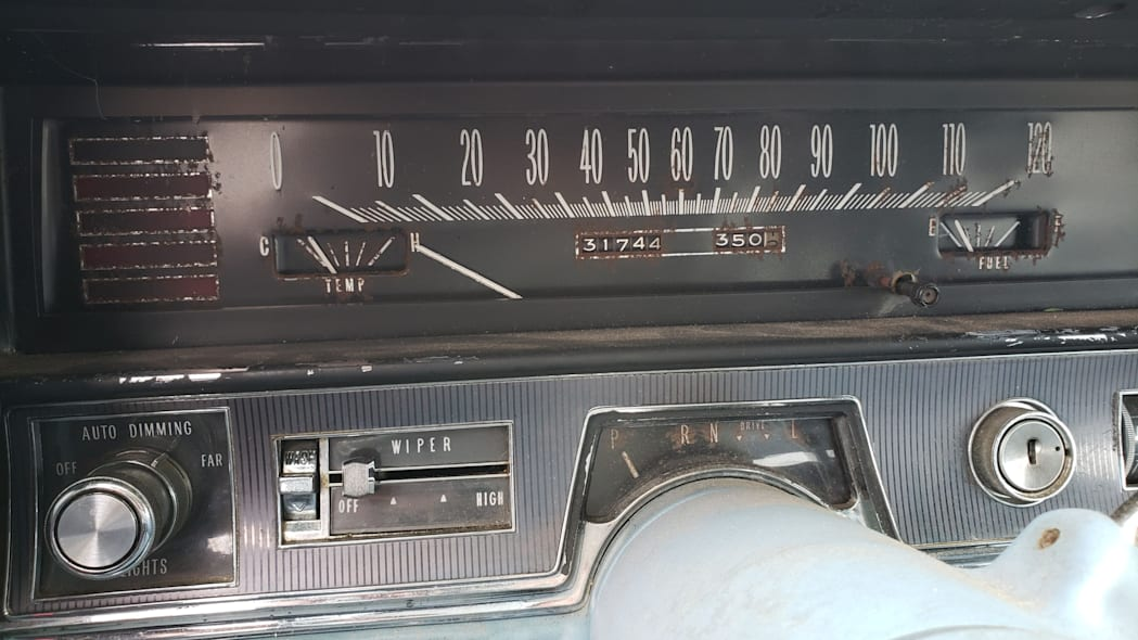 57 - 1967 Cadillac Fleetwood in Colorado Junkyard - photo by Murilee Martin