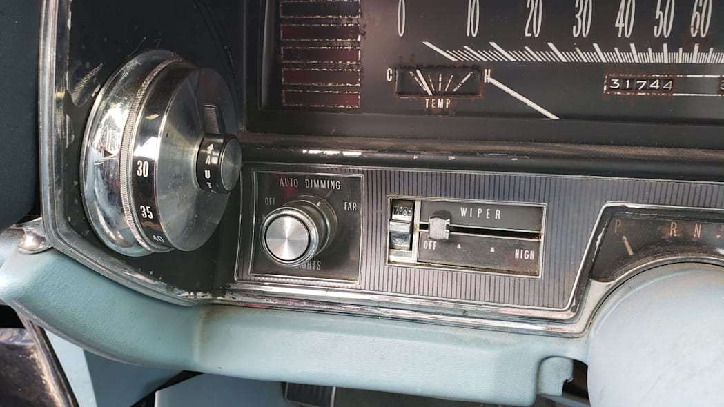 58 - 1967 Cadillac Fleetwood in Colorado Junkyard - photo by Murilee Martin