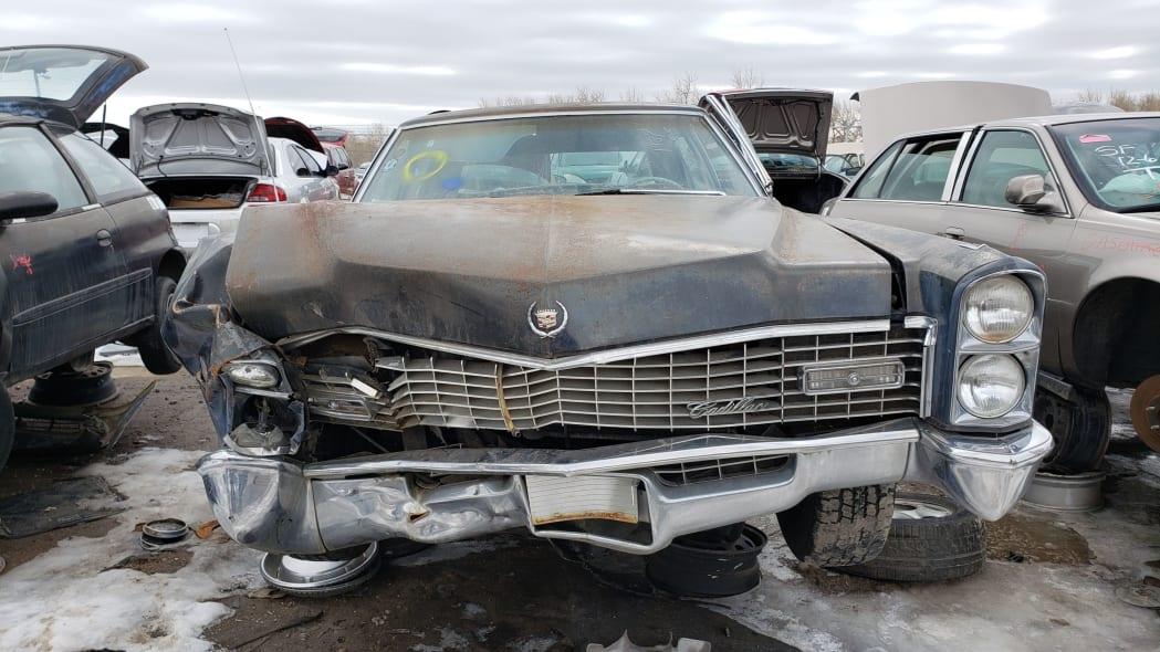 70 - 1967 Cadillac Fleetwood in Colorado Junkyard - photo by Murilee Martin