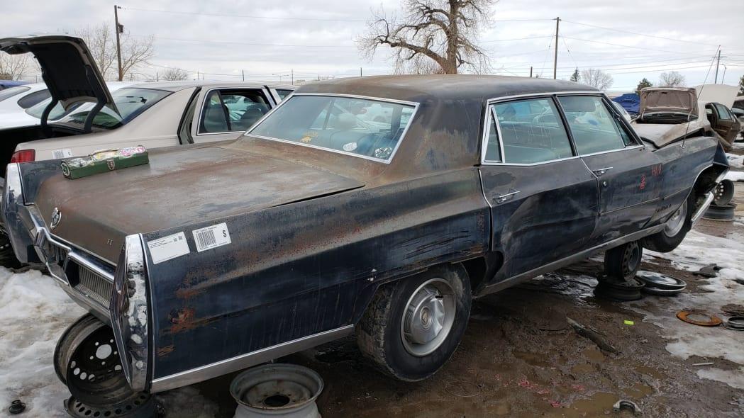 74 - 1967 Cadillac Fleetwood in Colorado Junkyard - photo by Murilee Martin