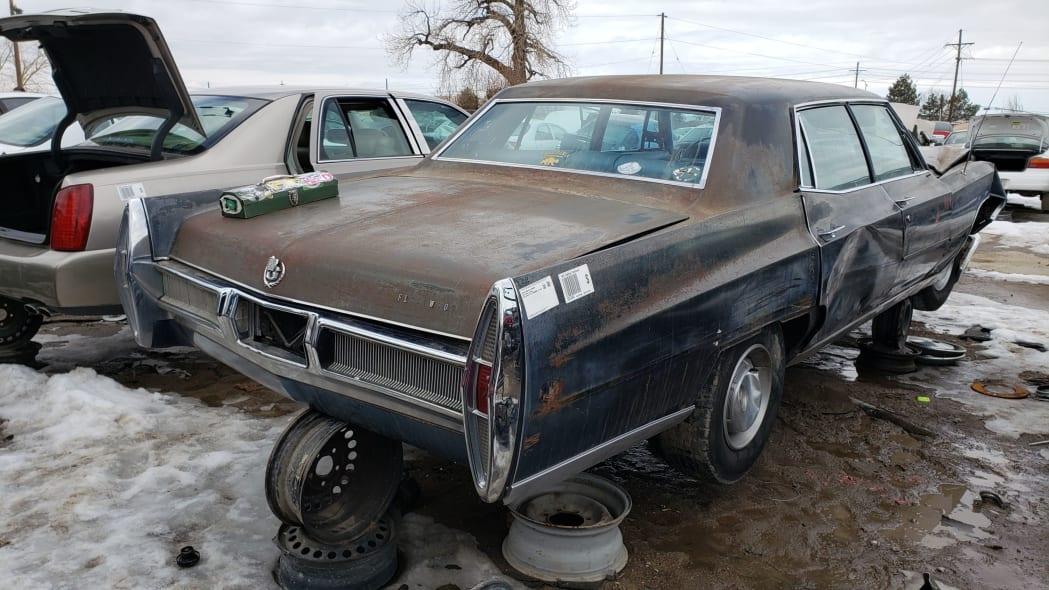 76 - 1967 Cadillac Fleetwood in Colorado Junkyard - photo by Murilee Martin