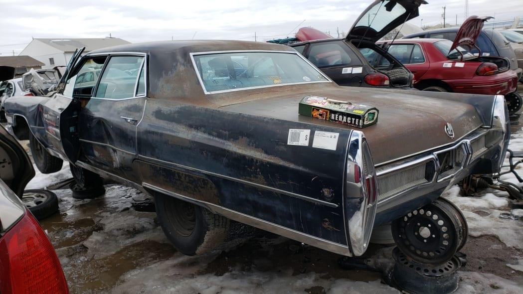 78 - 1967 Cadillac Fleetwood in Colorado Junkyard - photo by Murilee Martin
