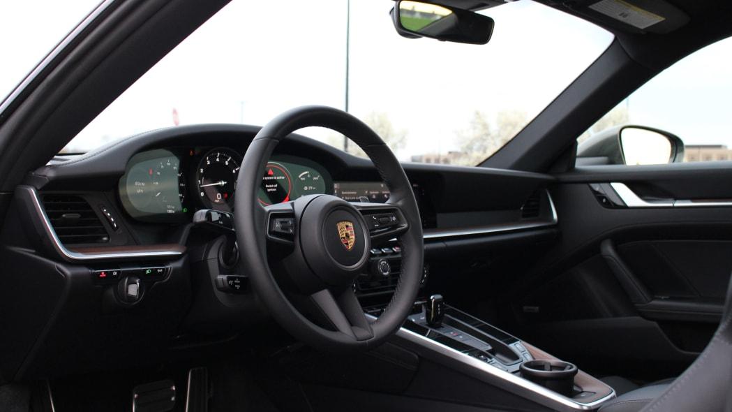 2020 Porsche 911 Carrera 4 interior