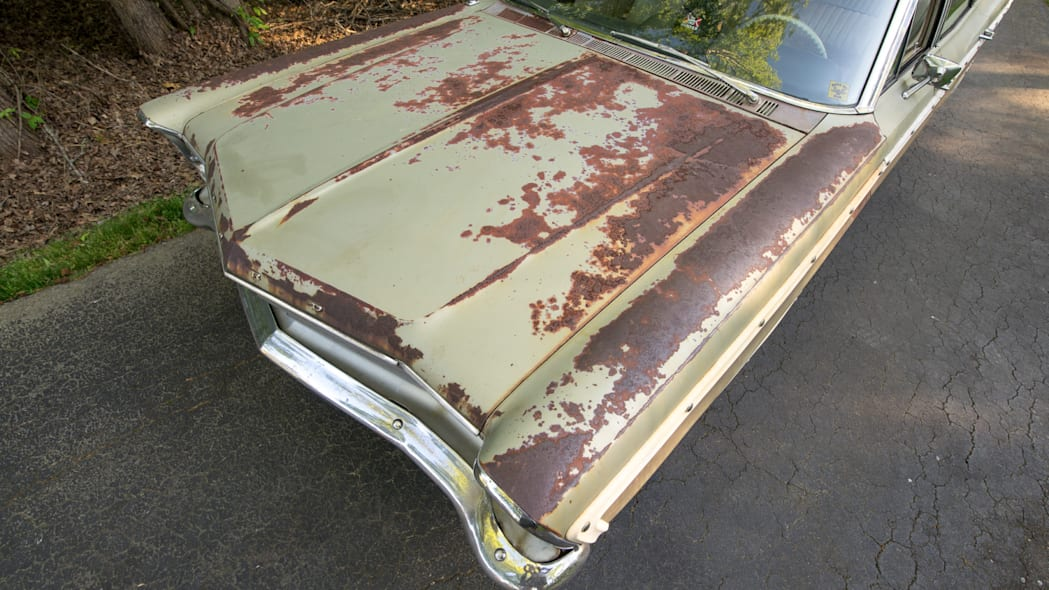 67 Squire, patina