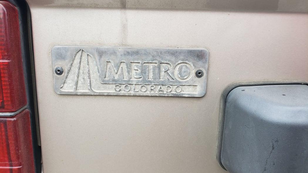 07 - 1989 Hyundai Excel GL in Colorado Junkyard - photo by Murilee Martin