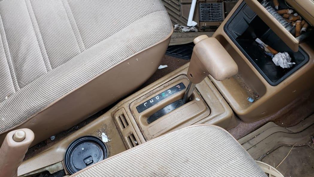 14 - 1989 Hyundai Excel GL in Colorado Junkyard - photo by Murilee Martin