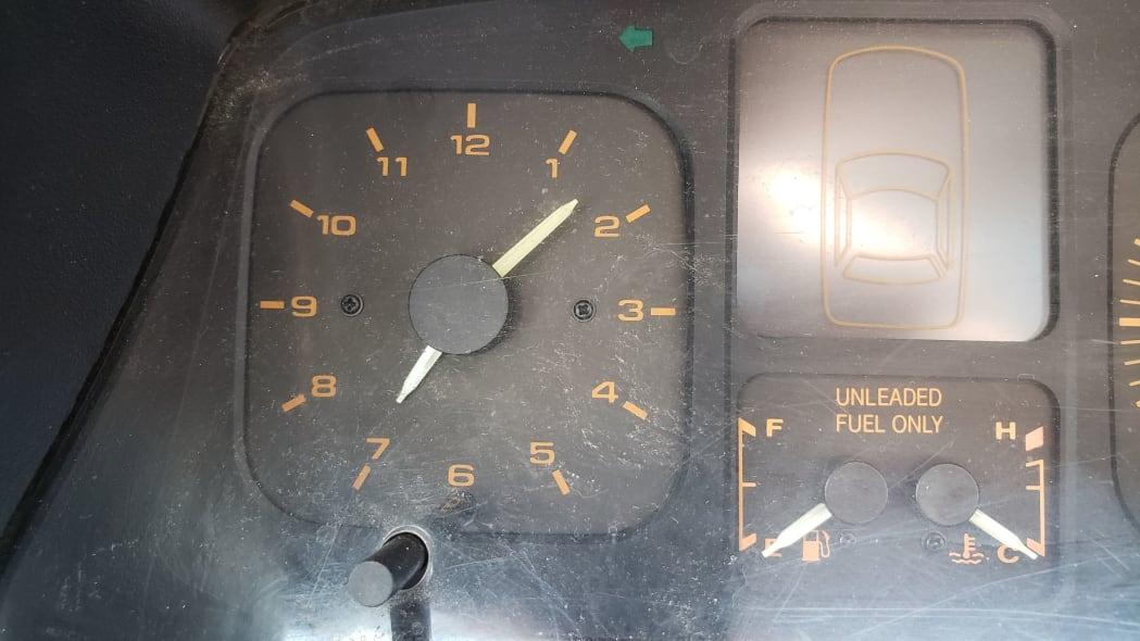 43 - 1989 Hyundai Excel GL in Colorado Junkyard - photo by Murilee Martin