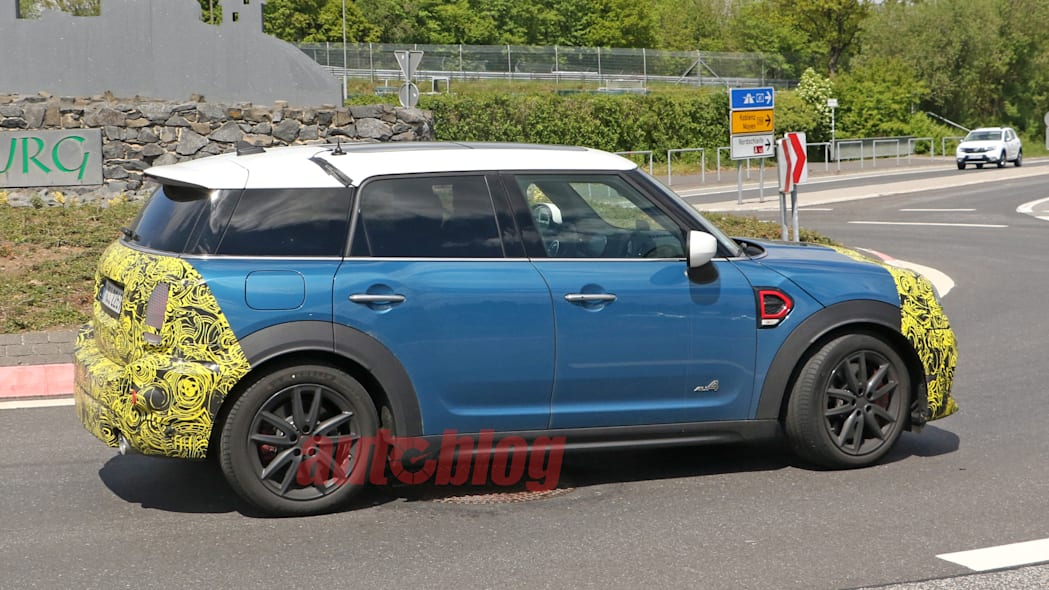 2021 Mini Countryman prototype