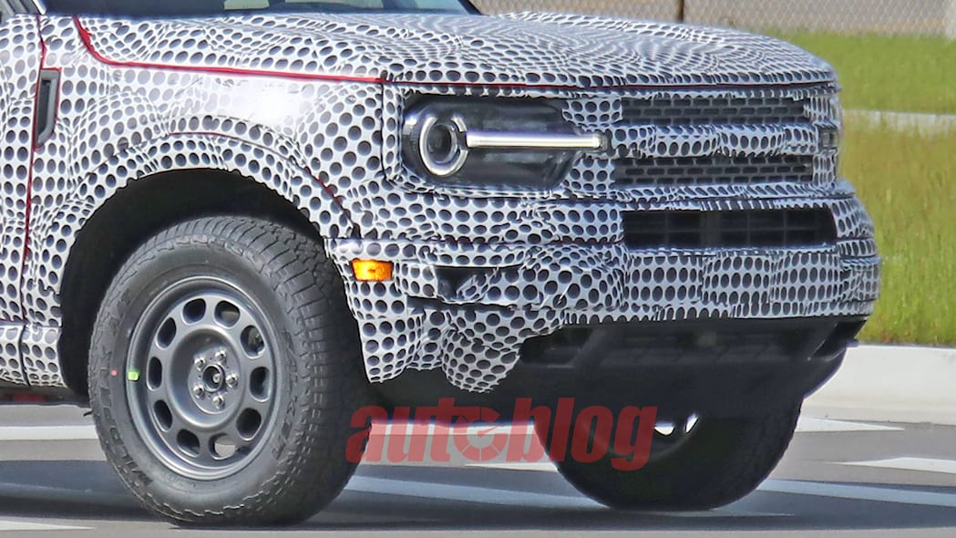 2021 Ford Bronco Sport spy shots May 20, 2020 Photo ...