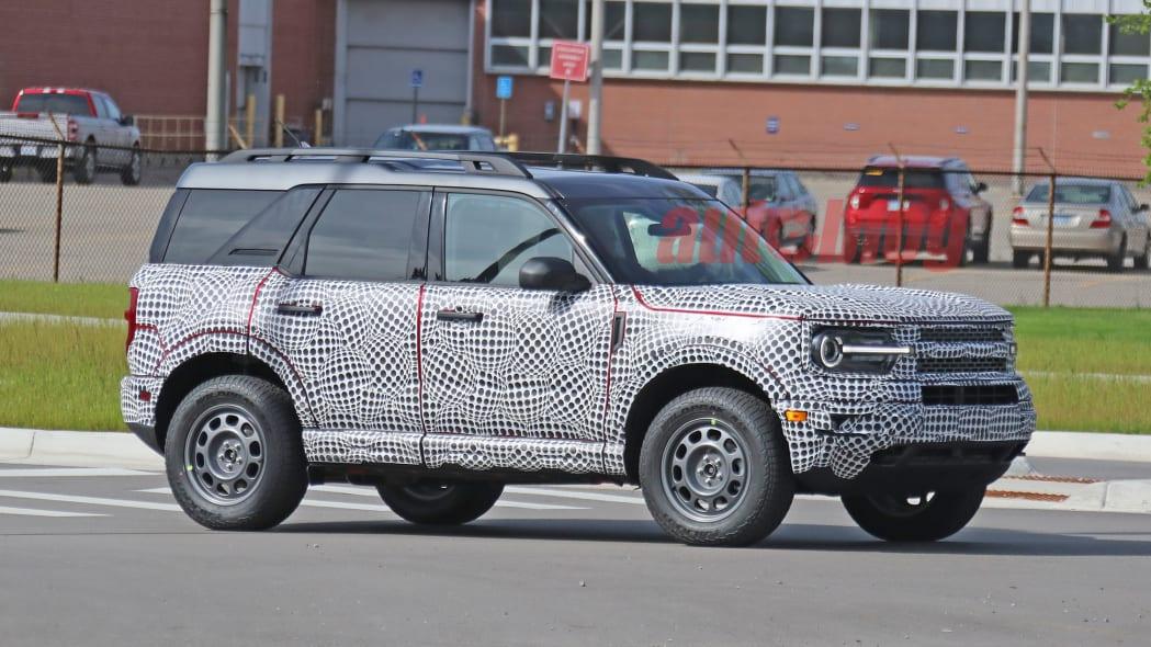 2021 Ford Bronco Sport prototype