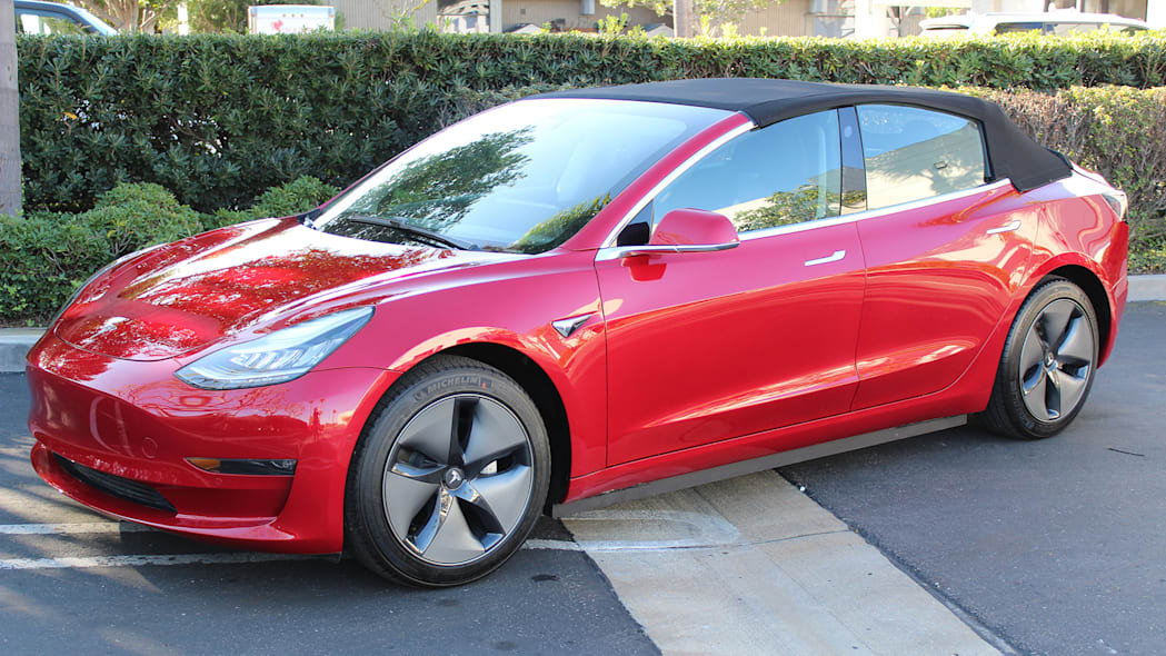 Tesla Model 3 convertible
