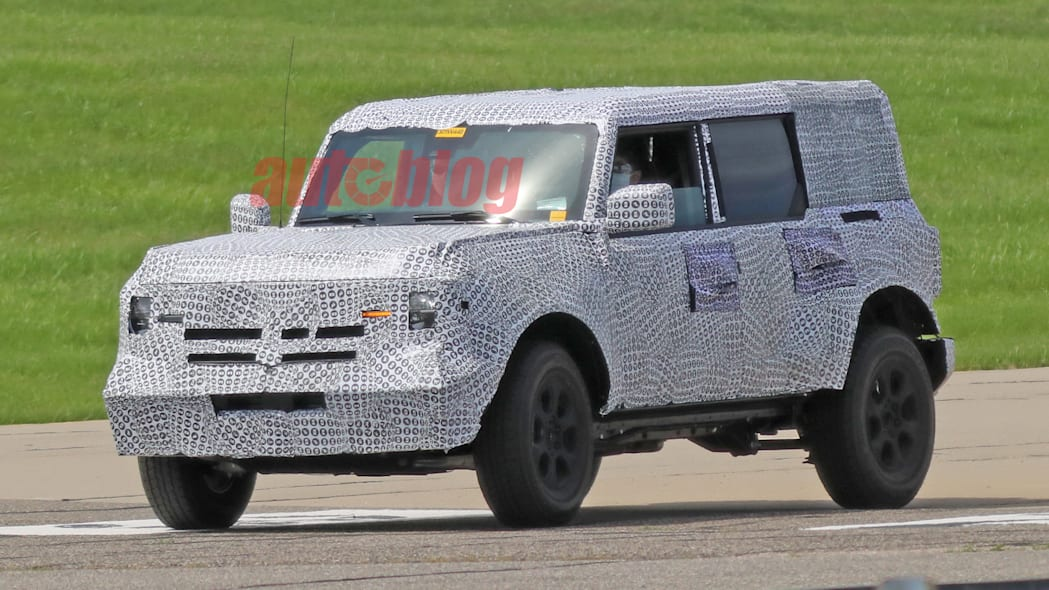2021 Ford Bronco prototype
