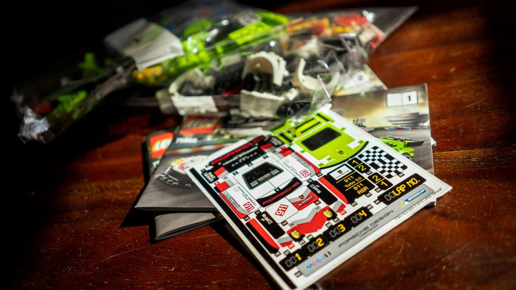 Porsche Lego recreations