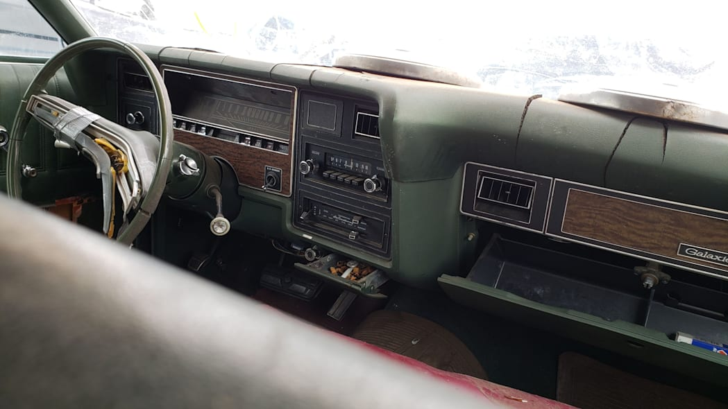 53 - 1973 Ford Galaxie 500 in Colorado Junkyard - photo by Murilee Martin
