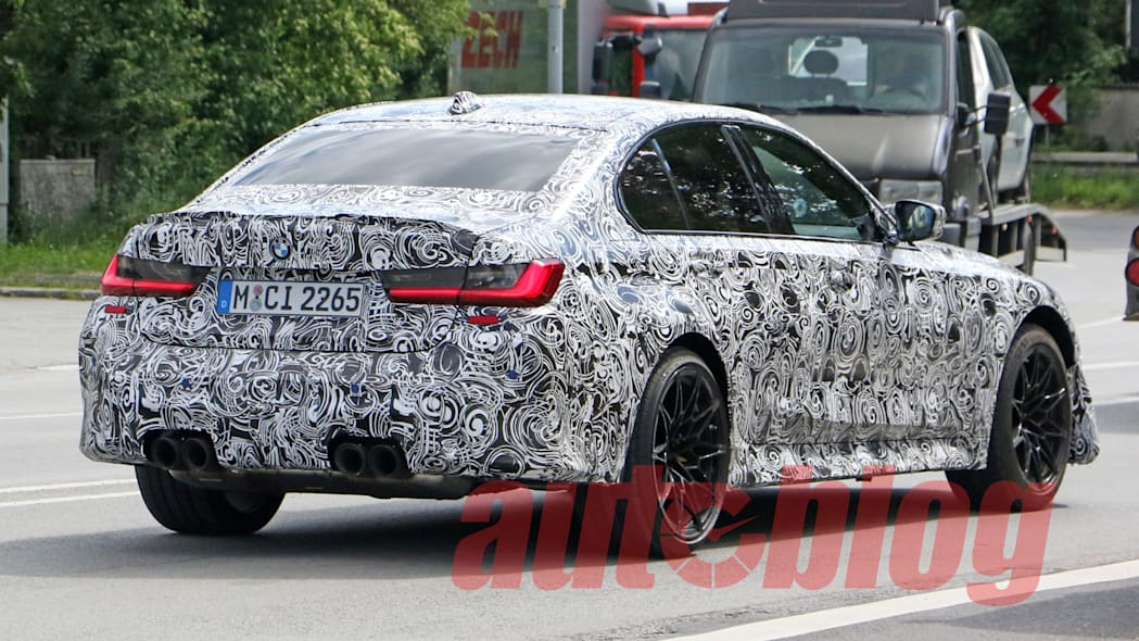 G80 BMW M3 performance spy photo