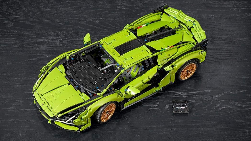 Lamborghini Sian by Lego Technic
