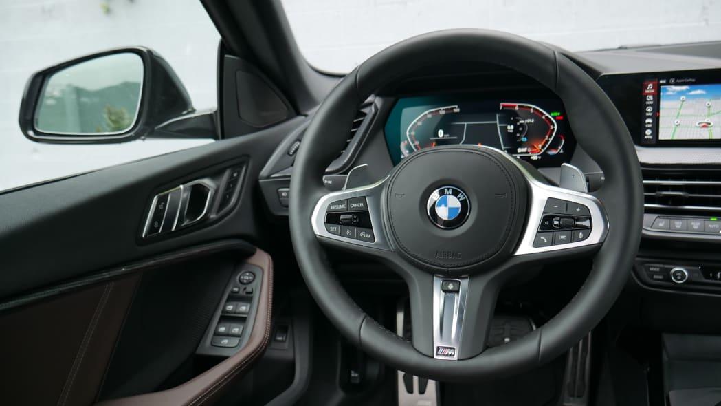 2020 BMW 228i steering wheel