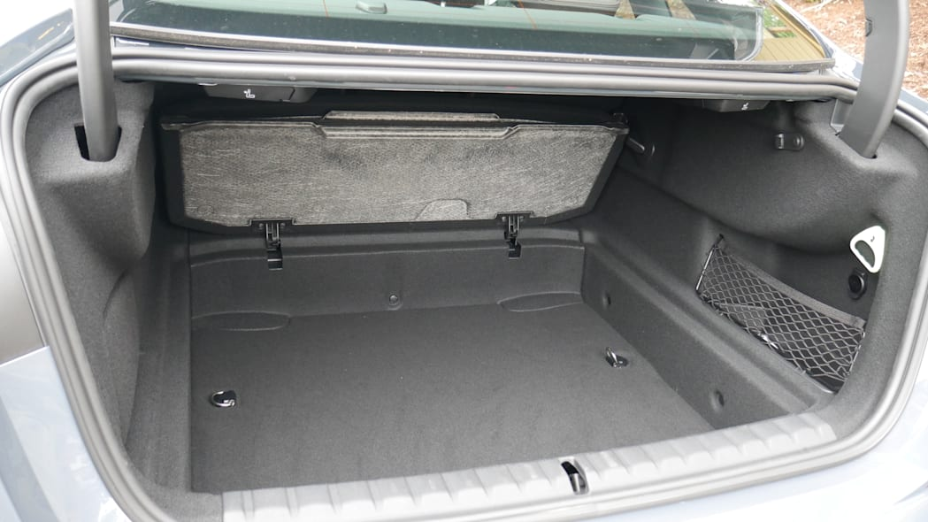 2020 BMW 228i under floor storage