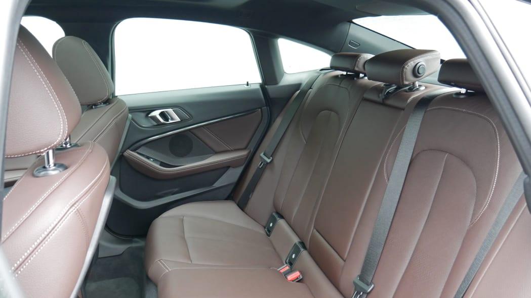 2020 BMW 228i back seat