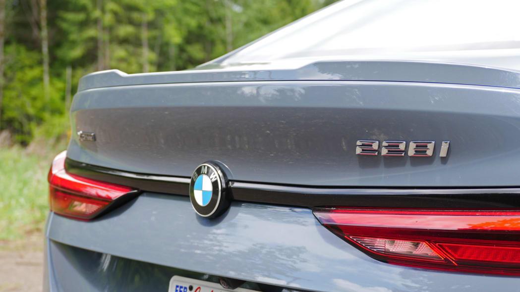 2020 BMW 228i badge