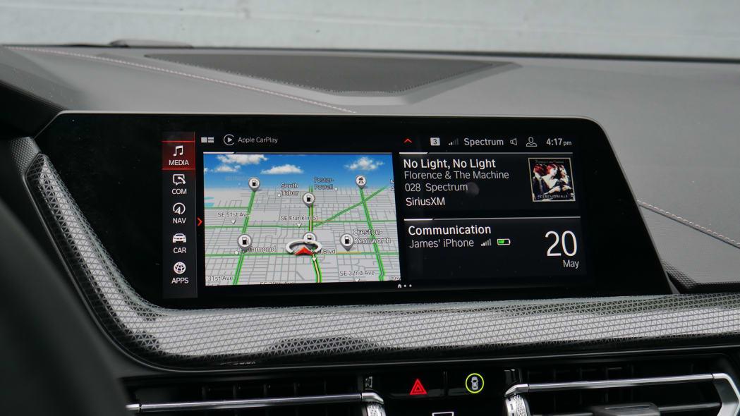 2020 BMW 228i iDrive screen
