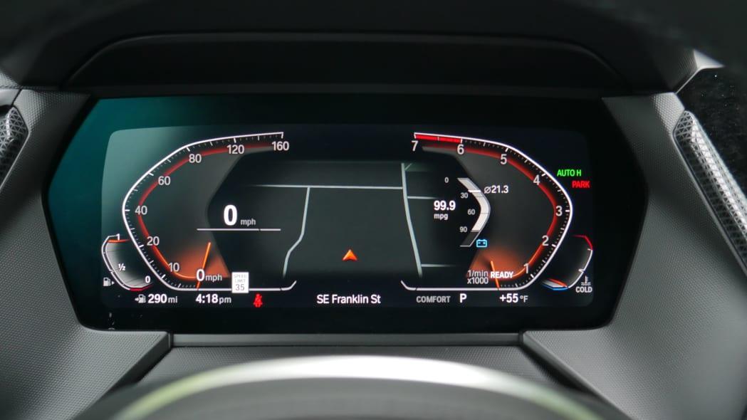 2020 BMW 228i instrument panel