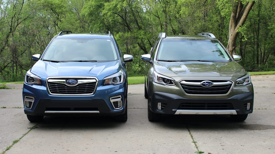 Subaru Outback and Forester