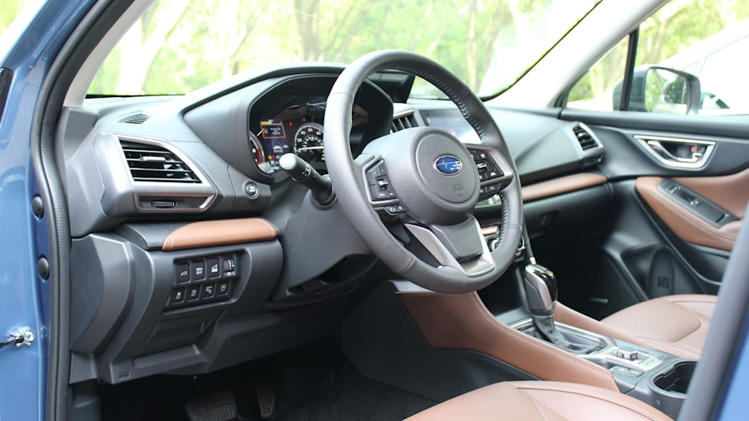 Forester driver dash