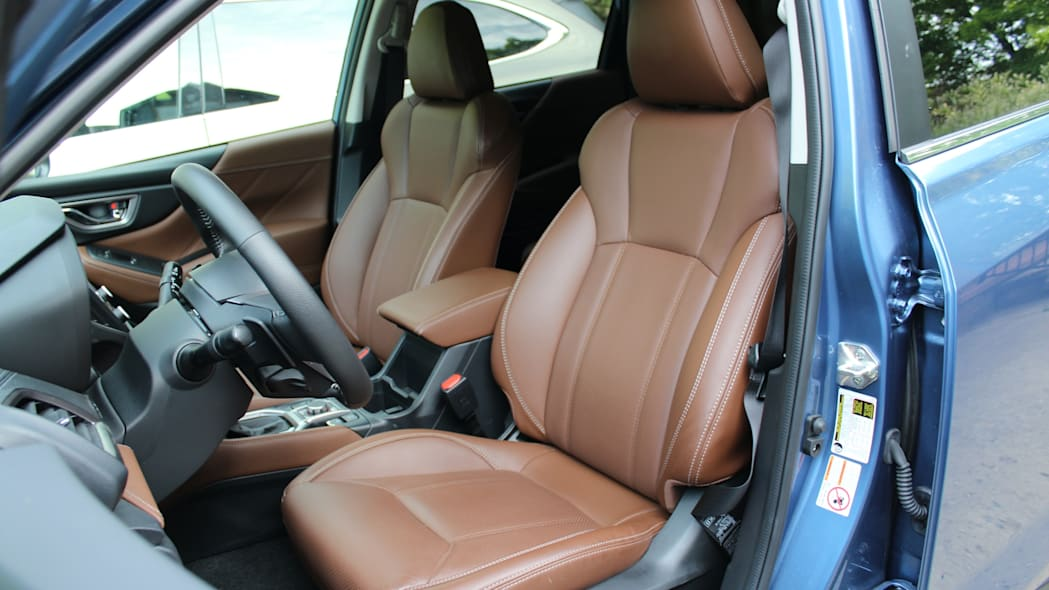 Forester front seats