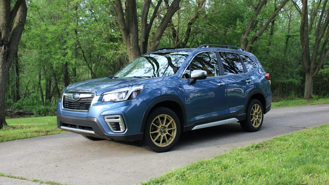 Forester exterior front 3/4