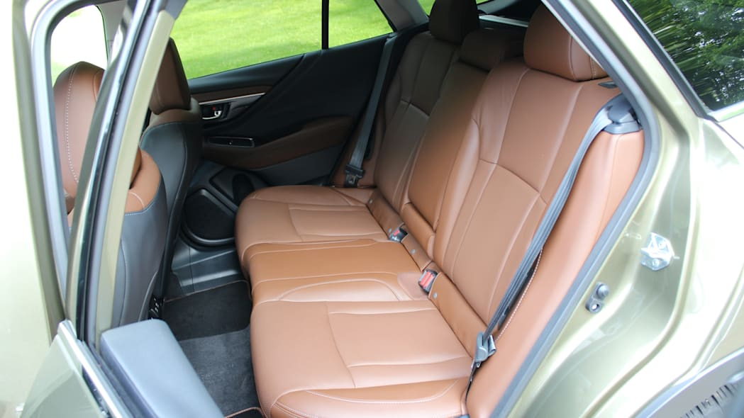 Outback rear seats