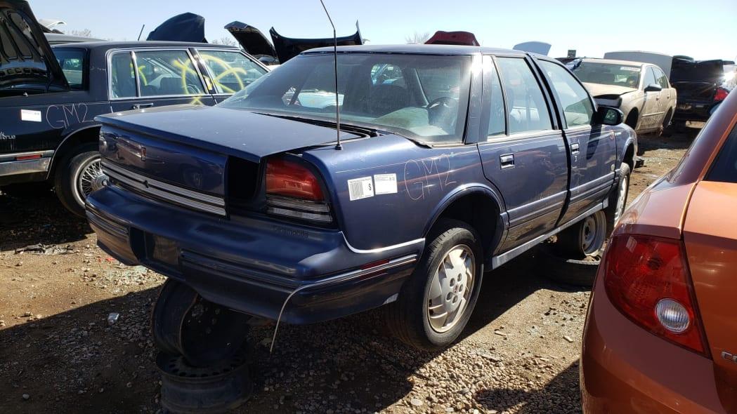 38 - 1996 Oldsmobile Cutlass in Colorado Junkyard - photo by Murilee Martin